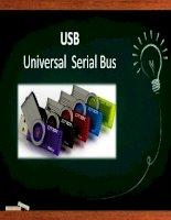 USB driver cách hoạt động lưu trữ dữ liệu