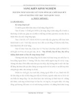 SKKN PHƯƠNG PHÁP GIÁO DỤC KỸ NĂNG SỐNG QUA MÔN ĐẠO ĐỨC LỚP 4 Ở TRƯỜNG TIỂU HỌC TRẦN QUỐC TOẢN