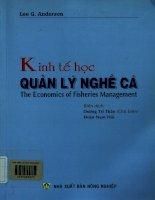 Kinh tế học quản lý nghề cá
