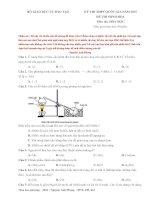 đề giải chi tiết đề thi minh hoạ BGD