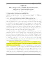Luận Văn Thực trạng công tác định giá bất động sản tại Công ty TNHH Kiểm toán Việt