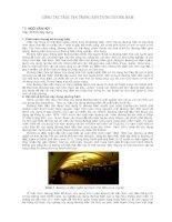 nghiên cứu công tác trắc địa trong xây dựng đường hầm
