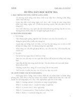 Giáo án Tiếng Anh lớp 6 Thí điểm trọn bộ học kì 1