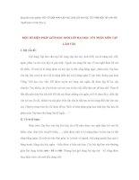 Sáng kiến kinh nghiệm MỘT SỐ BIỆN PHÁP GIÚP HỌC SINH LỚP HAI HỌC TỐT PHÂN MÔN TẬP LÀM VĂN