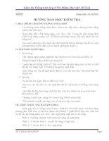 Giáo án Tiếng Anh lớp 6 Thí điểm_Học kỳ I (FULL)