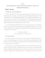 SKKN MỘT SỐ BIỆN PHÁP GIÚP HỌC SINH YÊU THÍCH VÀ HỌC TỐT  MÔN LỊCH SỬ LỚP 4 5