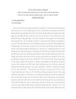 SÁNG KIẾN KINH NGHIỆM MỘT SỐ PHƯƠNG PHÁP DẠY TOÁN LỚP 4 THEO HƯỚNG TÍCH CỰC HÓA HOẠT ĐỘNG HỌC TẬP CỦA HỌC SINH