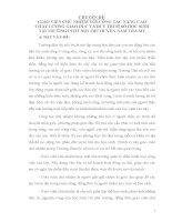 Chuyên đề GIÁO VIÊN CHỦ NHIỆM VỚI CÔNG TÁC NÂNG CAO CHẤT LƯỢNG GIÁO DỤC VÀ DUY TRÌ SĨ SỐ HỌC SINH TẠI TRƯỜNG PTDT NỘI TRÚ HUYỆN NAM TRÀ MY