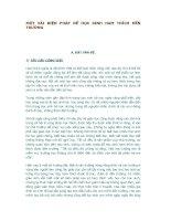 MỘT VÀI BIỆN PHÁP ĐỂ HỌC SINH HAM THÍCH ĐẾN TRƯỜNG