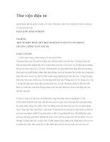 MỘT SỐ BIỆN PHÁP GIÚP HỌC SINH GIẢI TOÁN CÓ VĂN TRONG CHƯƠNG TRÌNH TOÁN LỚP 3