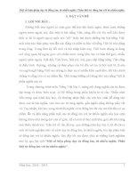 SKKN Một số biện pháp dạy từ đồng âm, từ nhiều nghĩa. Phân biệt từ đồng âm với từ nhiều nghĩa
