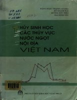 Thủy sinh học các thủy vực nước ngọt nội địa Việt Nam