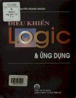 Điều khiển logic và ứng dụng - Tập 1. Hệ thống logic hai trạng thái và ứng dụng, Logic mờ và điều khiển mờ