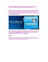 hướng đãn thiết kế giao diện trang web bằng photoshop