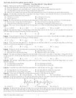 tuyển tập câu hỏi trắc nghiệm vật lý 12 có đáp án