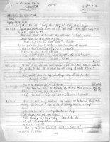 Giải bài tập trong sách bài tập xác suất và thống kê toán của Nguyễn Văn Cao