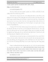 SKKN ĐỔI MỚI PHƯƠNG PHÁP GIẢNG DẠY BỘ MÔN HÓA HỌC NHẰM KÍCH THÍCH TÍNH TÍCH CỰC HỌC TẬP CỦA HỌC SINH THCS