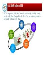 Tiểu luận môn Quản trị chất lượng Tìm hiểu về 5S