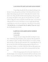 SKKN Thì quá khứ đơn  và các dạng bài tập trắc nghiệm Tiếng Anh- Lớp 5