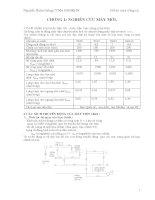 Tính toán thiết kê máy mới dựa trên máy tiện 1K62.DOC