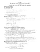tài liệu Ôn thi cấp tốc toán tuyển sinh vào lớp 10