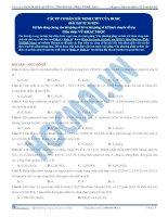 Bài tập về hợp chất hữu cơ