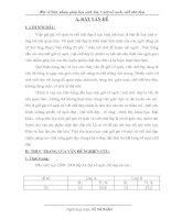 SKKN Kinh nghiệm hướng dẫn học sinh lớp 3 giữ vở sạch, viết chữ đẹp