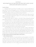 SKKN MỘT SỐ BIỆN PHÁP GIÚP HỌC SINH LỚP 2 KHẮC PHỤC LỖI PHỤ ÂM ĐẦU TRONG PHÂN MÔN CHÍNH TẢ NGHE VIẾT