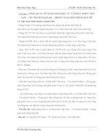 báo cáo thực tập NGÂN HÀNG ĐẦU TƯ VÀ PHÁT TRIỂN VIỆT NAM – CHI NHÁNH DAKLAK - PHÒNG GIAO DỊCH ĐÔNG BAN MÊ