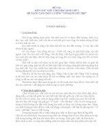 SKKN Rèn chữ viết cho học sinh lớp 1 để nâng cao chất lượng vở sạch chữ đẹp