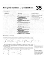 35 pericyclic reactions 1 cycloadditions from organicchemistry clayden