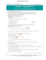 Bộ công thức giải nhanh môn Lý luyện thi đại học cho chương trình thi đổi mới năm học 20142015