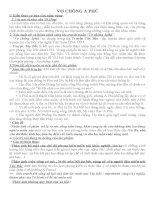 Các dạng đề văn ôn thi Đại học bài VỢ CHỒNG A PHỦ của Tô Hoài