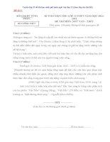 Tuyển tập 25 đề thi học sinh giỏi môn ngữ văn lớp 12 (kèm đáp án chi tiết)