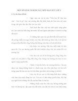 SKKN MỘT SỐ KINH NGHIỆM DẠY MÔN ĐẠO ĐỨC LỚP 3