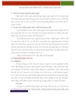 Bài thuyết trình NGÔN NGỮ CỬ CHỈ TRONG GIAO TIẾP