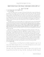 SÁNG KIẾN KINH NGHIỆM_BIỆN PHÁP DẠY ÂM NHẠC CHO HỌC SINH LỚP 4 VÀ LỚP 5