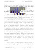 Phát triển chính sách sản phẩm dịch vụ GTGT  Trung tâm dịch vụ giá trị gia tăng VDC Online _ công ty điện toán và truyền số liệu VDC trên thị trường miền Bắc