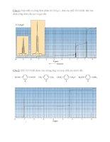 BÀI tập về NMR PHẦN 2
