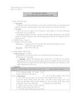 Giáo án địa 6 bài 8 sự chuyển động của trái đất quanh mặt trời