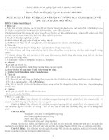 Hướng dẫn ôn thi tốt nghiệp ngữ văn 12
