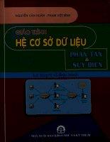Giáo trình hệ cơ sở dữ liệu - Phân tán và suy diễn - Lý thuyết và thực hành