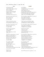 Học tiếng anh qua bài hát  Dave Matthews Band  Crash Into Me