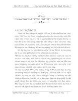 SKKN NÂNG CAO CHẤT LƯỢNG GIỜ THỰC HÀNH TIN HỌC 7