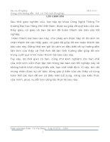 """đồ án """"Xây dựng phần mềm quản lý bán háng cho công ty TNHH Shinhwa Vina"""