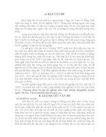 SKKN Phương pháp dạy ôn tập tốt nghiệp môn Ngữ văn ( Áp dụng cho phần truyện ngắn Văn học Việt nam) nhằm đạt kết quả cao