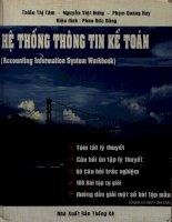 Hệ thống thông tin kế toán - Tóm tắt lý thuyết - 100 bài tập tự giải - Trắc nghiệm