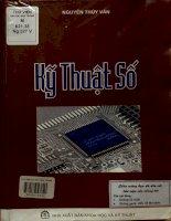 Kỹ thuật số - Sách được dùng làm giáo trình cho các trường đại học kỹ thuật