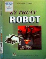 Kỹ thuật robot - Giáo trình dùng cho sinh viên đại học khối kỹ thuật