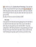 Tìm hiểu về công nghệ SMT và thực tế SMT tại việt nam